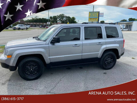 2015 Jeep Patriot for sale at ARENA AUTO SALES,  INC. in Holly Hill FL