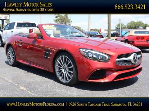 2018 Mercedes-Benz SL-Class for sale at Hawley Motor Sales in Sarasota FL