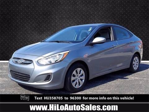 2017 Hyundai Accent for sale at Hi-Lo Auto Sales in Frederick MD