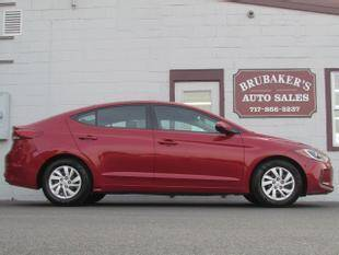 2017 Hyundai Elantra for sale at Brubakers Auto Sales in Myerstown PA