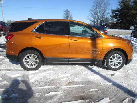 2018 Chevrolet Equinox for sale at Knauff & Sons Motor Sales in New Vienna OH