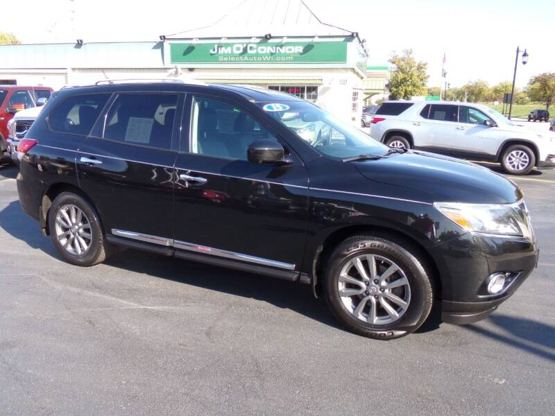 2015 Nissan Pathfinder for sale at Jim O'Connor Select Auto in Oconomowoc WI