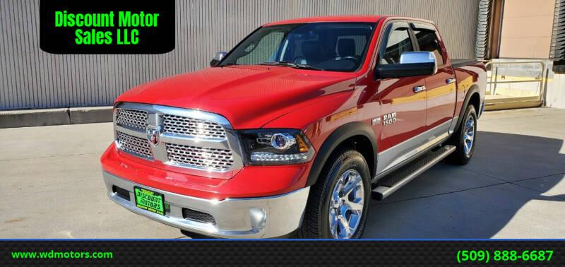2013 RAM Ram Pickup 1500 for sale at Discount Motor Sales LLC in Wenatchee WA