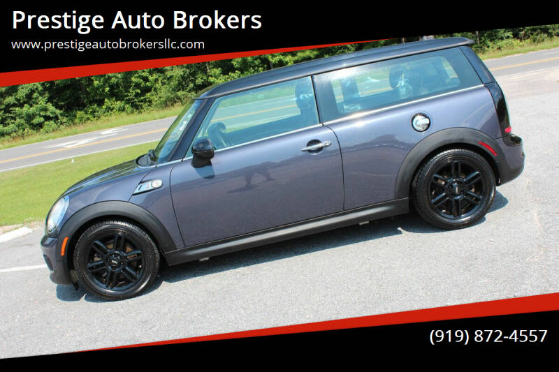 2012 MINI Cooper Clubman for sale at Prestige Auto Brokers in Raleigh NC