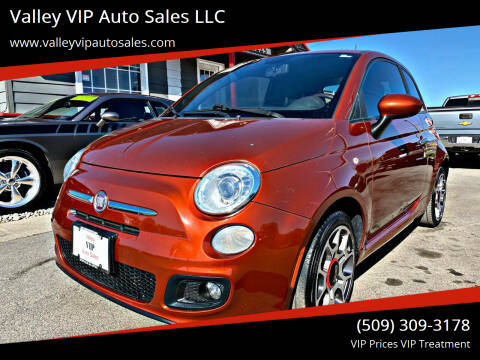 2012 FIAT 500 for sale at Valley VIP Auto Sales LLC - Valley VIP Auto Sales - E Sprague in Spokane Valley WA
