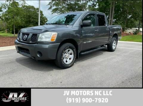 2007 Nissan Titan for sale at JV Motors NC LLC in Raleigh NC