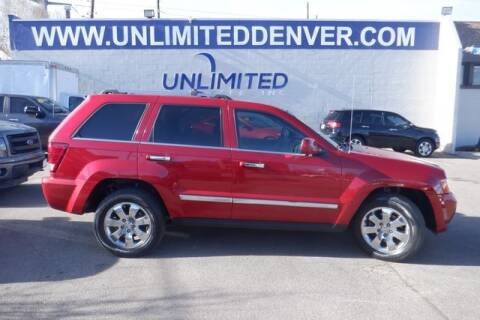 2010 Jeep Grand Cherokee for sale at Unlimited Auto Sales in Denver CO