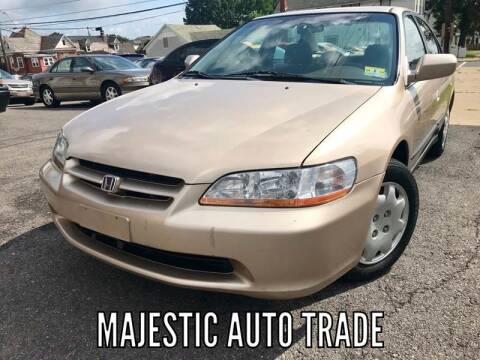 2000 Honda Accord for sale at Majestic Auto Trade in Easton PA