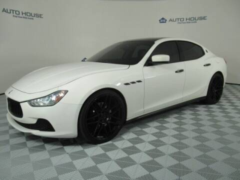 2015 Maserati Ghibli for sale at Curry's Cars Powered by Autohouse - Auto House Tempe in Tempe AZ