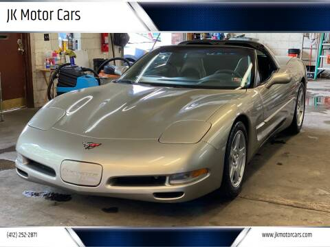 1999 Chevrolet Corvette for sale at JK Motor Cars in Pittsburgh PA