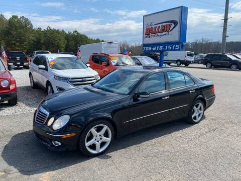 2009 Mercedes-Benz E-Class for sale at Billy Ballew Motorsports in Dawsonville GA