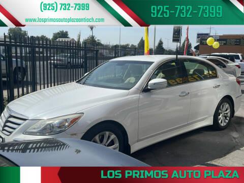 2013 Hyundai Genesis for sale at Los Primos Auto Plaza in Antioch CA
