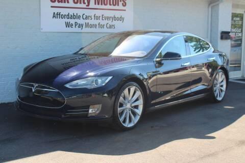 2013 Tesla Model S for sale at Oak City Motors in Garner NC