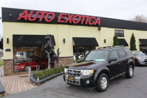 2011 Ford Escape for sale at Auto Exotica in Red Bank NJ