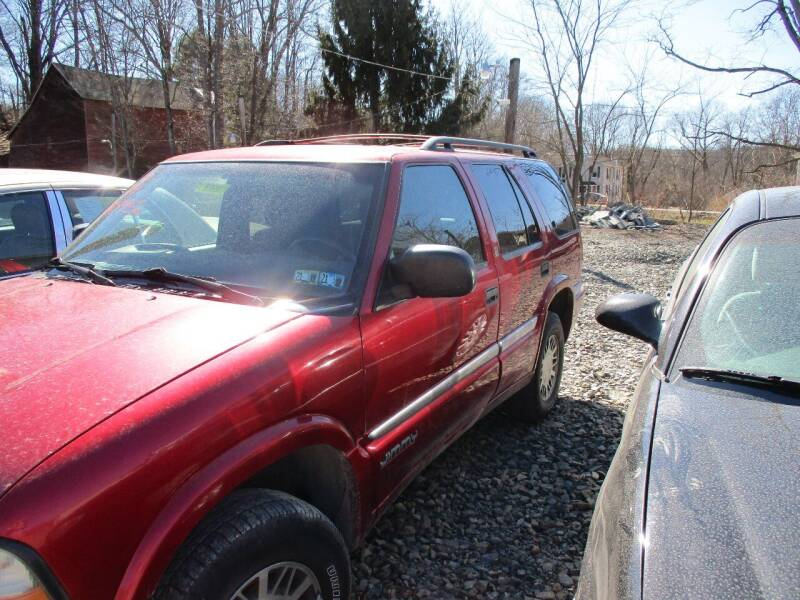 2000 GMC Jimmy for sale at FERNWOOD AUTO SALES in Nicholson PA