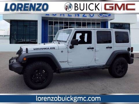 2017 Jeep Wrangler Unlimited for sale at Lorenzo Buick GMC in Miami FL