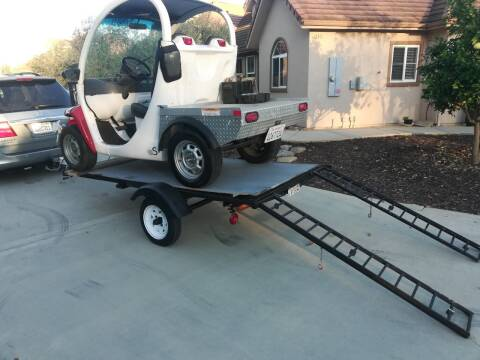 1999 trailer ATV ,UTV, golf cart 10x5 for sale at Quality Auto Outlet in Vista CA