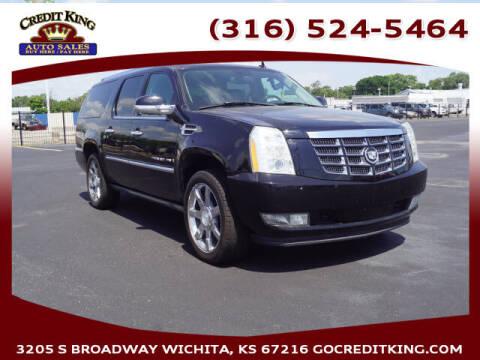 2007 Cadillac Escalade ESV for sale at Credit King Auto Sales in Wichita KS