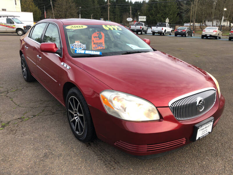 2008 Buick Lucerne for sale at Freeborn Motors in Lafayette, OR