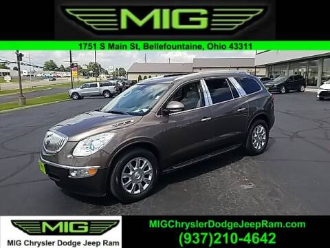 2011 Buick Enclave for sale at MIG Chrysler Dodge Jeep Ram in Bellefontaine OH