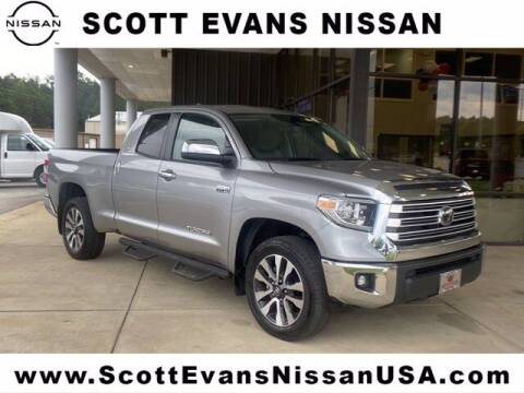 2020 Toyota Tundra for sale at Scott Evans Nissan in Carrollton GA