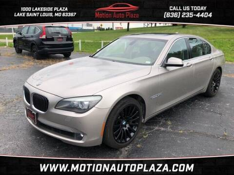 2010 BMW 7 Series for sale at Motion Auto Plaza in Lakeside MO