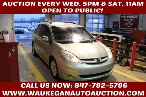 2007 Toyota Sienna for sale at Waukegan Auto Auction in Waukegan IL