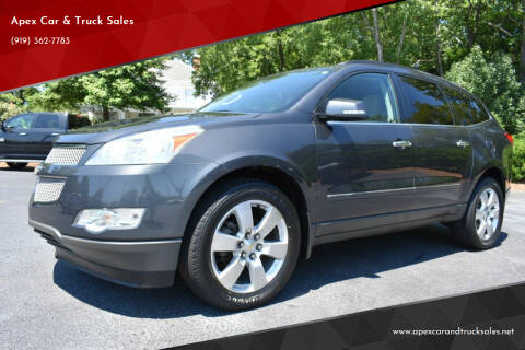 2012 Chevrolet Traverse for sale at Apex Car & Truck Sales in Apex NC