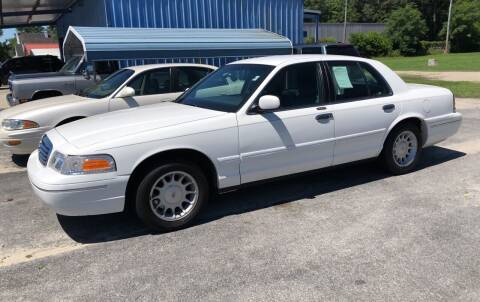 2001 Ford Crown Victoria for sale at Mac's Auto Sales in Camden SC