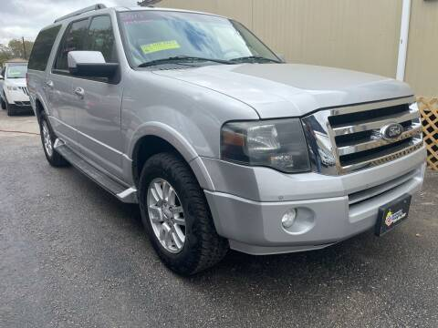 2013 Ford Expedition EL for sale at Midtown Motor Company in San Antonio TX