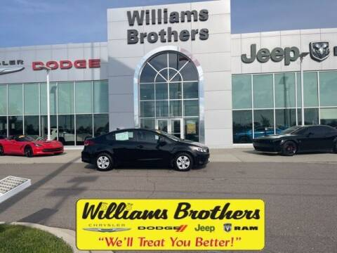 2017 Kia Forte for sale at Williams Brothers - Pre-Owned Monroe in Monroe MI