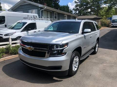 2019 Chevrolet Tahoe for sale at RC Auto Brokers, LLC in Marietta GA