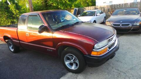 1998 Chevrolet S-10 for sale at Unlimited Auto Sales in Upper Marlboro MD