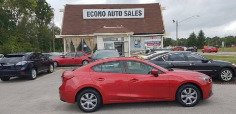 2015 Mazda MAZDA3 for sale at Econo Auto Sales Inc in Raleigh NC