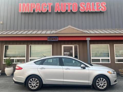 2016 Ford Fusion for sale at Impact Auto Sales in Wenatchee WA