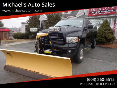 2004 Dodge Ram Pickup 2500 for sale at Michael's Auto Sales in Derry NH