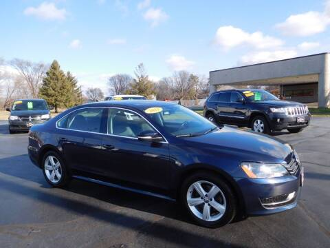 2013 Volkswagen Passat for sale at North State Motors in Belvidere IL