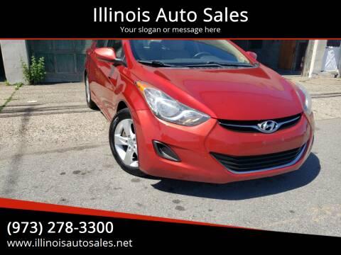 2011 Hyundai Elantra for sale at Illinois Auto Sales in Paterson NJ