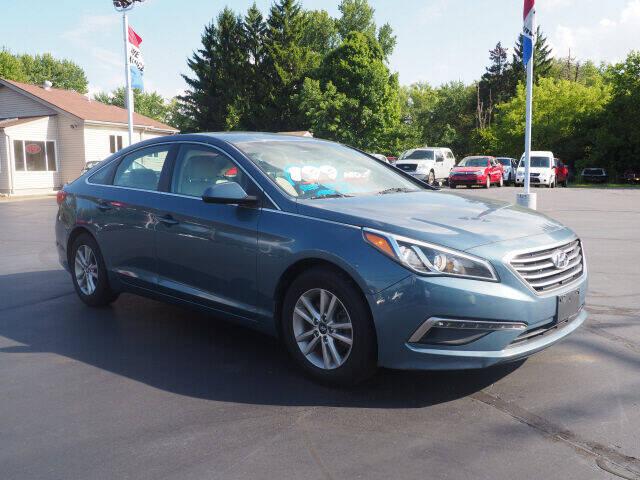 2015 Hyundai Sonata for sale at Patriot Motors in Cortland OH