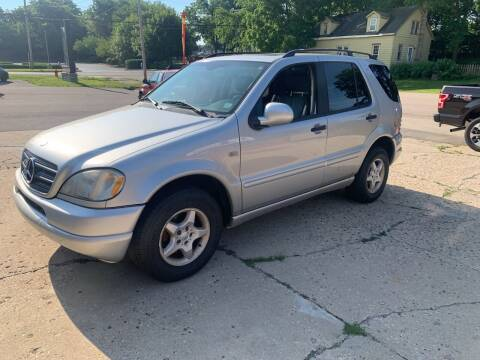2001 Mercedes-Benz M-Class for sale at NJ Quality Auto Sales LLC in Richmond IL