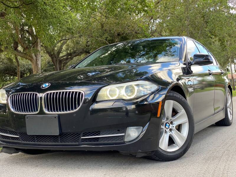 2013 BMW 5 Series for sale at HIGH PERFORMANCE MOTORS in Hollywood FL