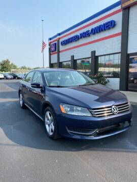 2014 Volkswagen Passat for sale at Ultimate Auto Deals DBA Hernandez Auto Connection in Fort Wayne IN