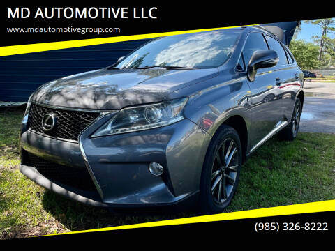 2014 Lexus RX 350 for sale at MD AUTOMOTIVE LLC in Slidell LA
