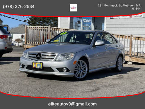 2009 Mercedes-Benz C-Class for sale at ELITE AUTO SALES, INC in Methuen MA