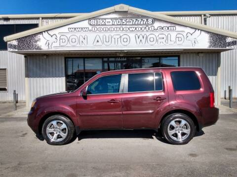 2014 Honda Pilot for sale at Don Auto World in Houston TX