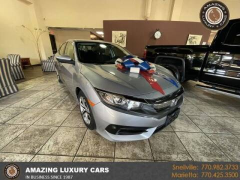 2018 Honda Civic for sale at Amazing Luxury Cars in Snellville GA