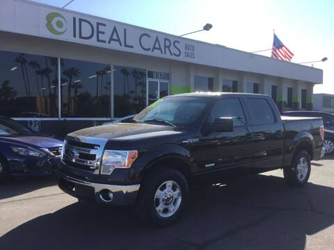 2013 Ford F-150 for sale at Ideal Cars Broadway in Mesa AZ