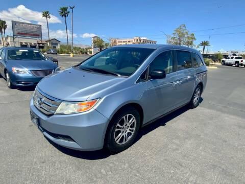 2012 Honda Odyssey for sale at Charlie Cheap Car in Las Vegas NV