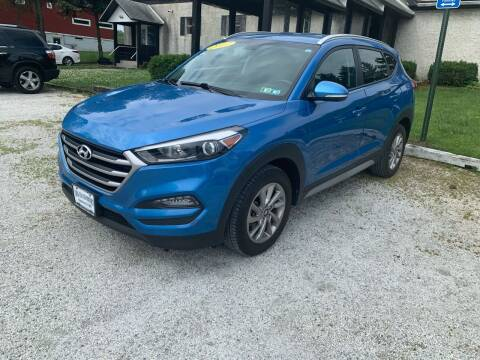 2017 Hyundai Tucson for sale at Caulfields Family Auto Sales in Bath PA