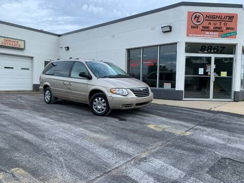 2006 Chrysler Town and Country for sale at HIGHLINE AUTO LLC in Kenosha WI